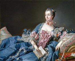 Madame de Pompadour, c.1758/59 by Boucher | Painting Reproduction