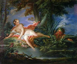 The Bather Surprised | Boucher | Painting Reproduction