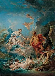 Juno Asking Aeolus to Release the Winds | Boucher | Gemälde Reproduktion