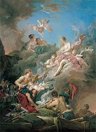 Venus at Vulcan's Forge, 1769 by Boucher | Painting Reproduction