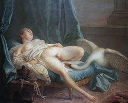 Leda and Swan | Boucher | Painting Reproduction