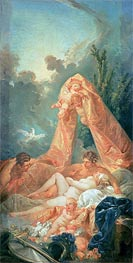 Mars and Venus surprised by Vulcan | Boucher | Painting Reproduction