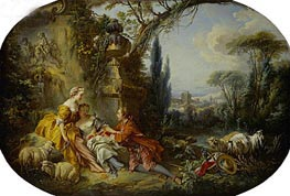 The Delights of Life in the Country | Boucher | Painting Reproduction