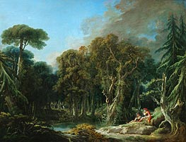 The Wood | Boucher | Painting Reproduction