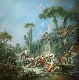 Shepherd's Idyll | Boucher | Painting Reproduction