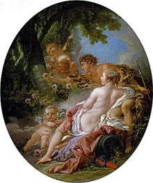 Angelica and Medoro | Boucher | Painting Reproduction