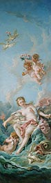 Venus on the Waves, 1769 by Boucher | Painting Reproduction