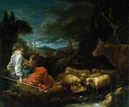 Pastoral | Boucher | Painting Reproduction