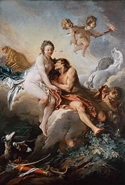 Aurora and Cephalus | Boucher | Painting Reproduction