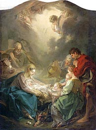 The Light of the World (Nativity) | Boucher | Painting Reproduction