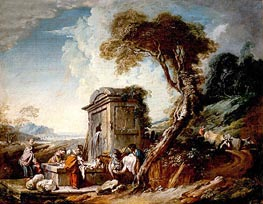 Washers, undated by Boucher | Painting Reproduction