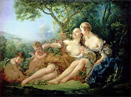 Bacchus and Erigone | Boucher | Painting Reproduction