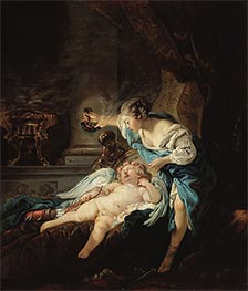 Psyche and Amour | Boucher | Gemälde Reproduktion