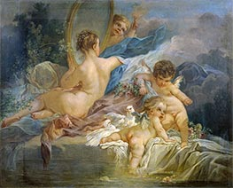 The Toilet of Venus, Undated by Boucher | Painting Reproduction