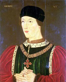 Henry VI of England, undated by Francois Clouet | Painting Reproduction