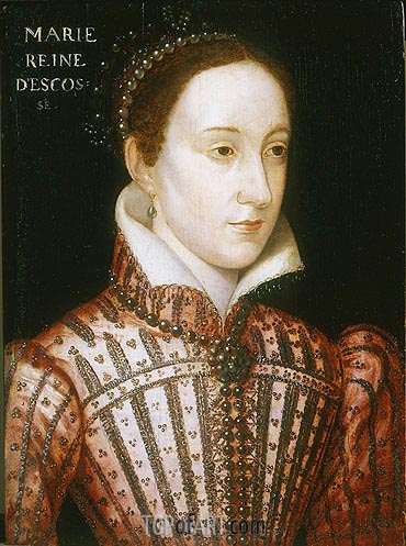 Mary Queen of Scots, c.1559 | Francois Clouet | Painting Reproduction