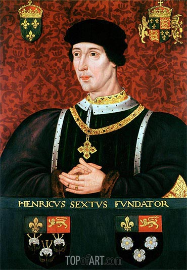 Portrait of Henry VI of England, undated | Francois Clouet | Painting Reproduction