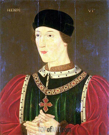 Henry VI of England, undated | Francois Clouet | Painting Reproduction