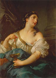 Cleopatra, c.1725 by Francois Lemoyne | Painting Reproduction