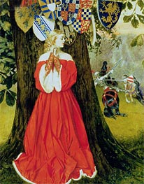 Errant Knight, Undated by Frank Cadogan Cowper | Painting Reproduction
