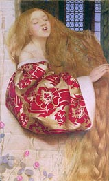 Rapunzel, 1908 by Frank Cadogan Cowper | Painting Reproduction