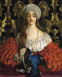 The Blue Bird | Frank Cadogan Cowper | Painting Reproduction