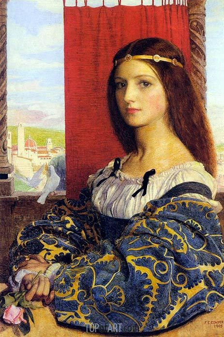 Molly, Duchess Of Nona, 1905 | Frank Cadogan Cowper | Painting Reproduction