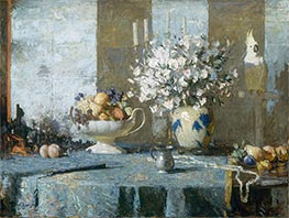 Still Life, c.1926 by Frank Weston Benson | Painting Reproduction