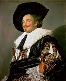 The Laughing Cavalier, 1624 by Frans Hals | Painting Reproduction