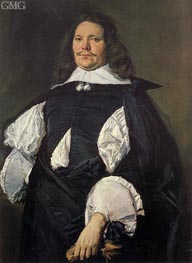 Portrait of a Man | Frans Hals | Gemälde Reproduktion