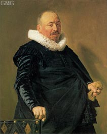 Portrait of an Elderly Man, c.1627/30 by Frans Hals | Painting Reproduction
