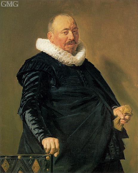 Portrait of an Elderly Man, c.1627/30 | Frans Hals | Painting Reproduction