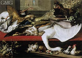 Still Life with Poultry and Venison, 1614 von Frans Snyders | Gemälde-Reproduktion
