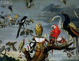 Concert of Birds | Frans Snyders | Gemälde Reproduktion