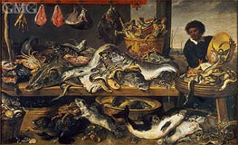 Fish Market | Frans Snyders | Painting Reproduction