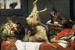 Still Life with Boar Head | Frans Snyders | Painting Reproduction
