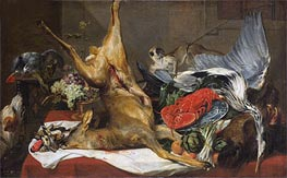 Still Life of Dead Game, c.1630/50 by Frans Snyders | Painting Reproduction