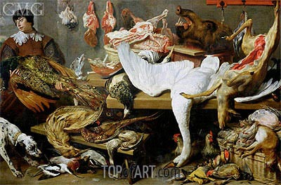 A Game Stall, Undated | Frans Snyders | Painting Reproduction