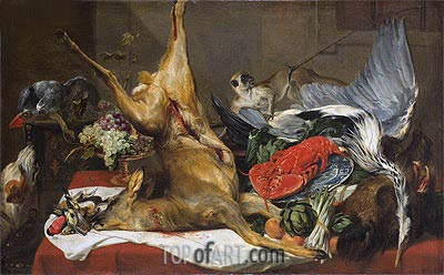 Still Life of Dead Game, c.1630/50 | Frans Snyders | Painting Reproduction