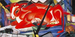 The World Cow | Franz Marc | Painting Reproduction