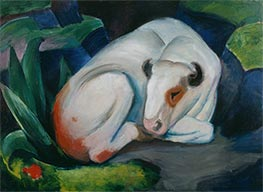White Bull | Franz Marc | Painting Reproduction