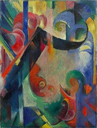 Broken Forms | Franz Marc | Painting Reproduction
