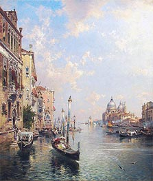 Grand Canal, Venice | Unterberger | Painting Reproduction