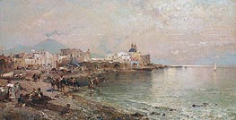 Torre del Greco, Bay of Naples | Unterberger | Painting Reproduction