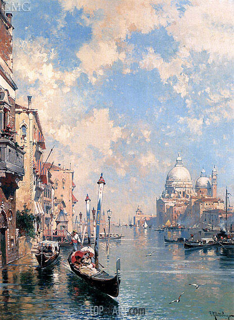 The Grand Canal, Venice, undated | Unterberger | Painting Reproduction