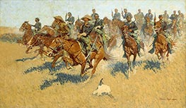 On the Southern Plains, 1907 by Frederic Remington | Painting Reproduction