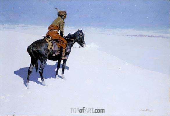 Friends or Foes? (The Scout), c.1902/05 | Frederic Remington | Painting Reproduction