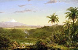 Cotopaxi, 1855 by Frederic Edwin Church | Painting Reproduction