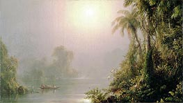 Morning in the Tropics, c.1858 by Frederic Edwin Church | Painting Reproduction