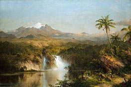 View of Cotopaxi, 1857 by Frederic Edwin Church | Painting Reproduction